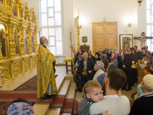 Проповедь в Казанском храме