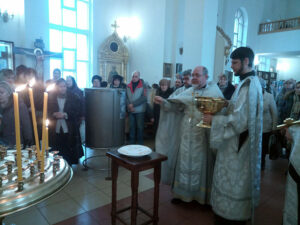 Крещенский сочельник в Казанском храме