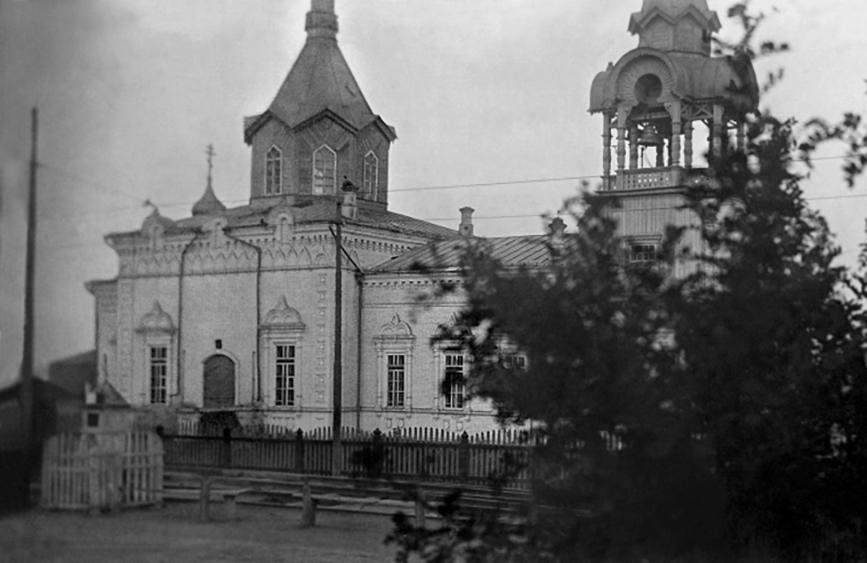 Ново-Казанский храм города Саратова